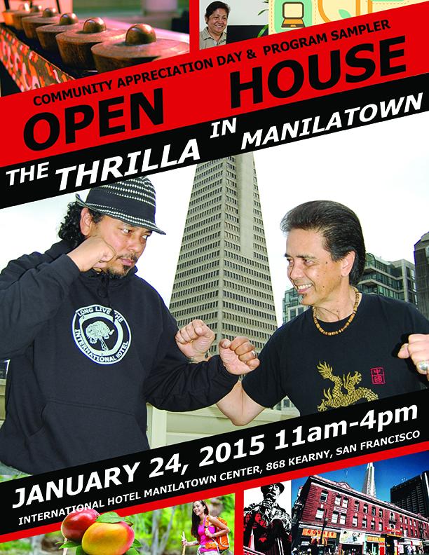 Thrilla in Manilatown Flyer